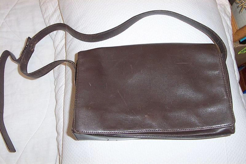 Caslon Leather Shoulder Bag Purse