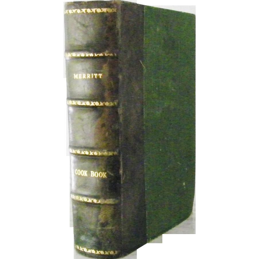 Kitchen Garden Cookbook Leather Bound The Boston Cooking School Cook Book 1919 By Fannie