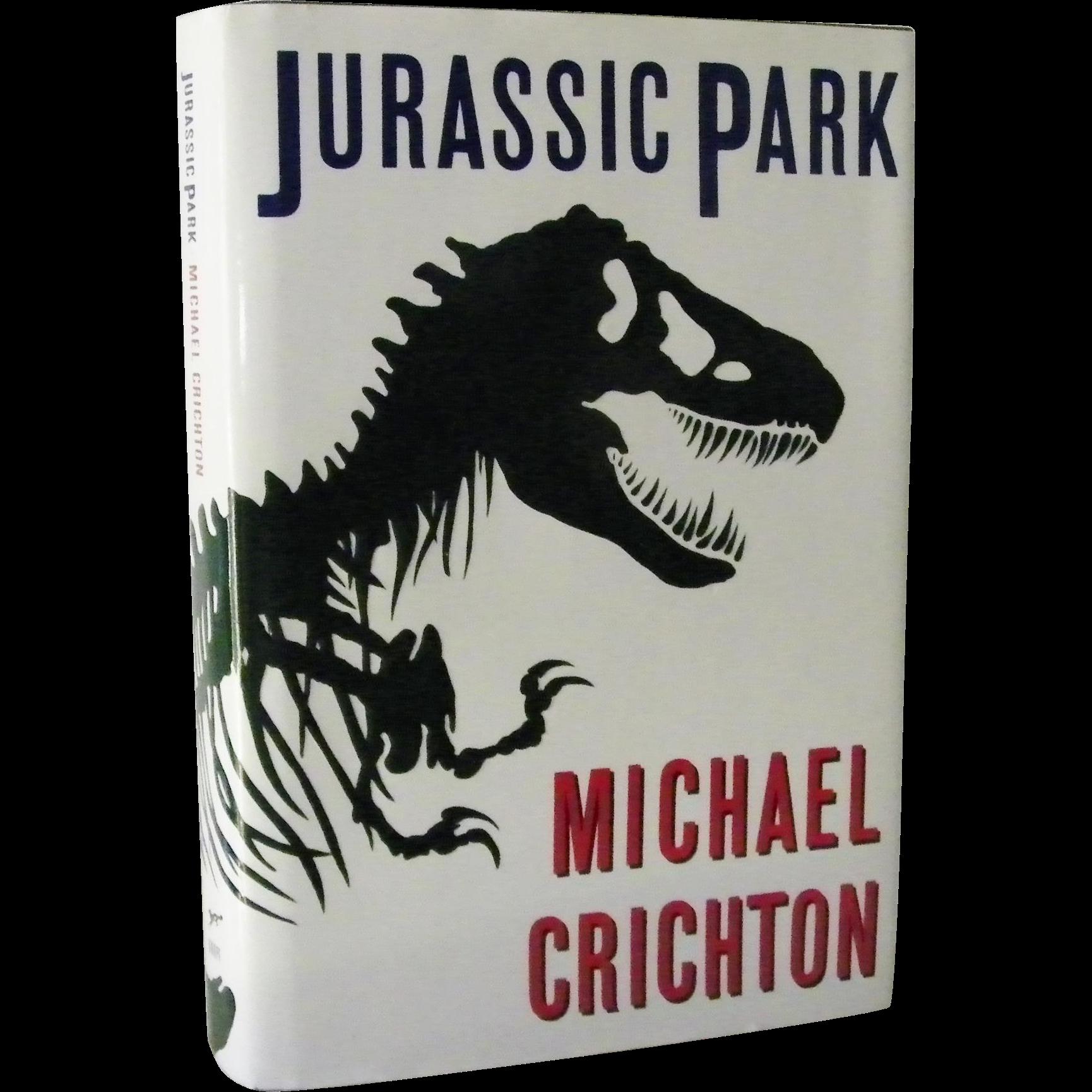 Jurassic Park by Michael Crichton 1st Edition 1st Print