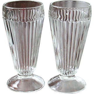 6  Ribbed Parfait Glasses 13 Glasses are Available