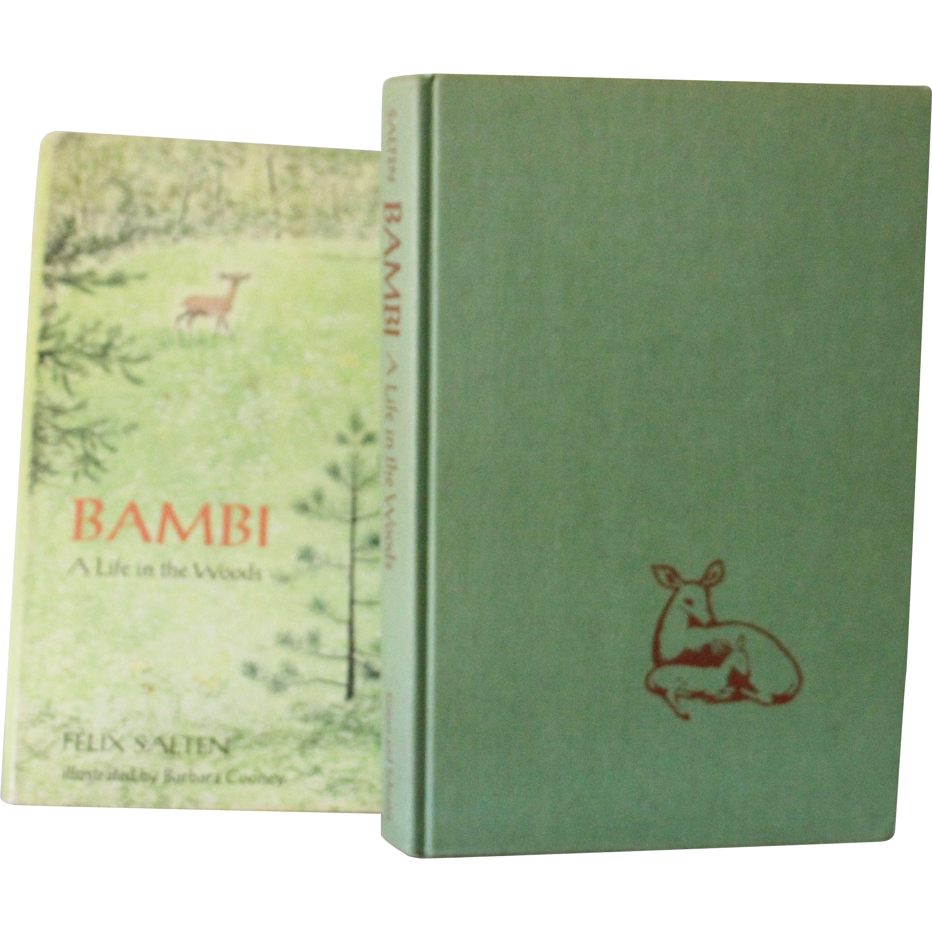 Bambi A Life in the Woods 1st Edition 1970 Illustrated by Barbara Cooney