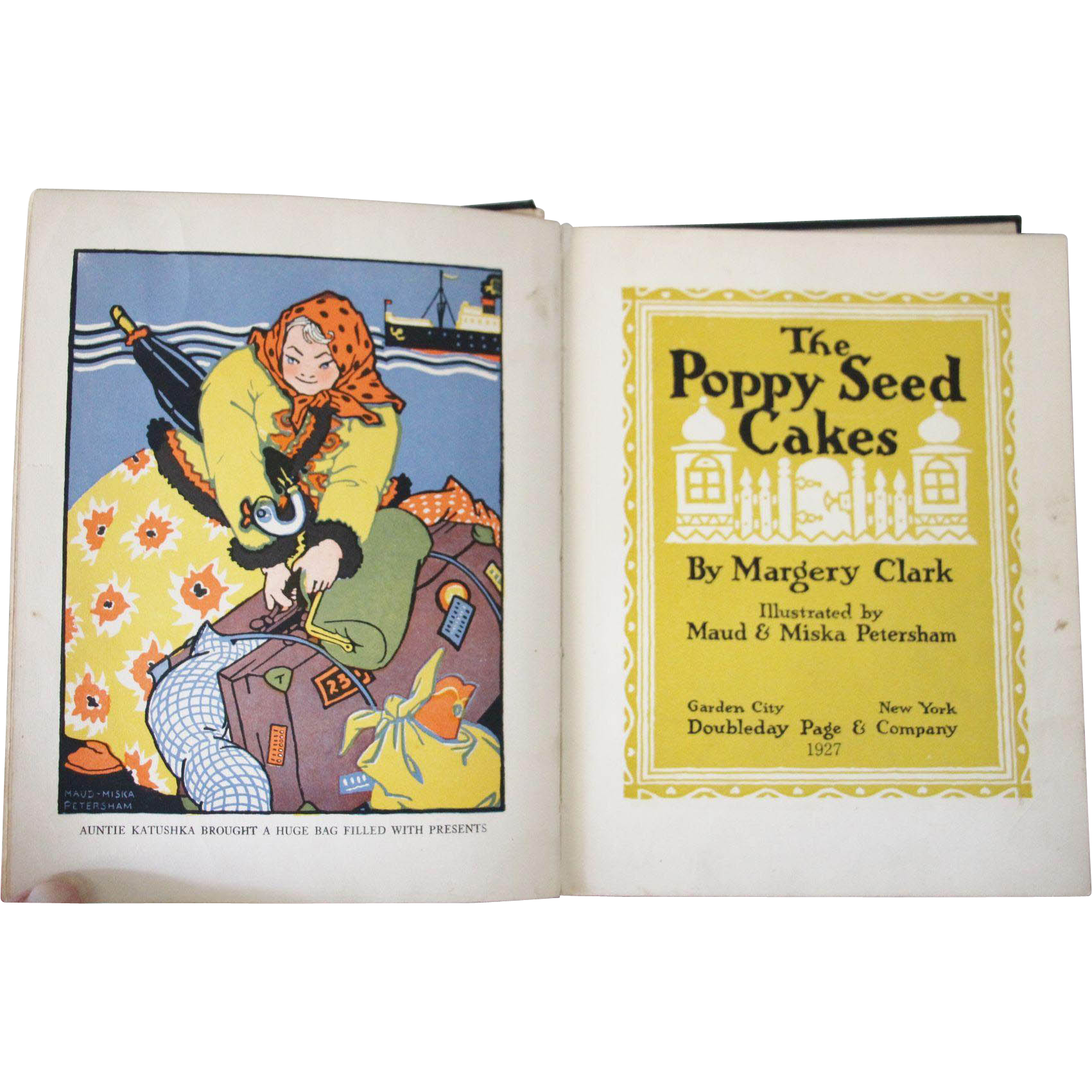 The Poppy Seed Cakes 1927 Fully Illustrated Bold Graphics
