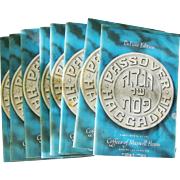 Set of 8 DeLuxe Edition Passover Haggadah Booklets Kosher 1965