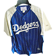 New, no tags. Dodgers MLB Shirt, MIRAGE Collection. Size Large
