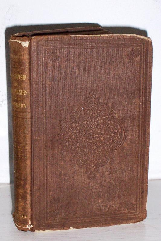 1st Ed. The Courtship of Miles Standish Longfellow 1858