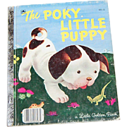 1970 The Poky Little Puppy ~ A Little Golden Book