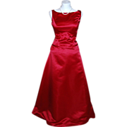 Gorgeous Bill Levkoff Lipstick Red Formal Gown