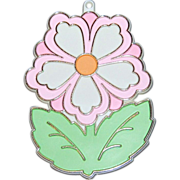 Hallmark ~ Spring or Easter Pink Painted Flower Cookie Cutter