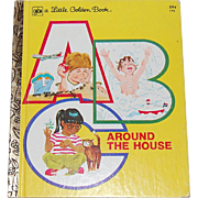 1978 ABC Around the House ~ A Little Golden Book