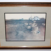 "1970s Hamilton ~ ""Late October"" Framed Print"