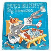 1953 Bugs Bunny's Big Invention First Edition Hardcover Book