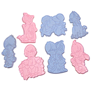 1993 Wilton ~ Precious Moments 7-Pc Cookie Cutters