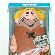 1972 Knickerbocker ~ Barney Flintstones Cloth Doll