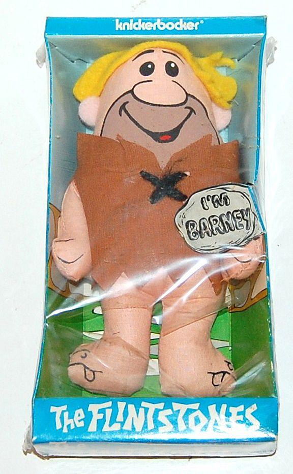 1972 Knickerbocker ~ Barney Flintstones Cloth Doll