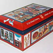 Vintage E. Otto Schmidt Biscuit Tin ~ West Germany
