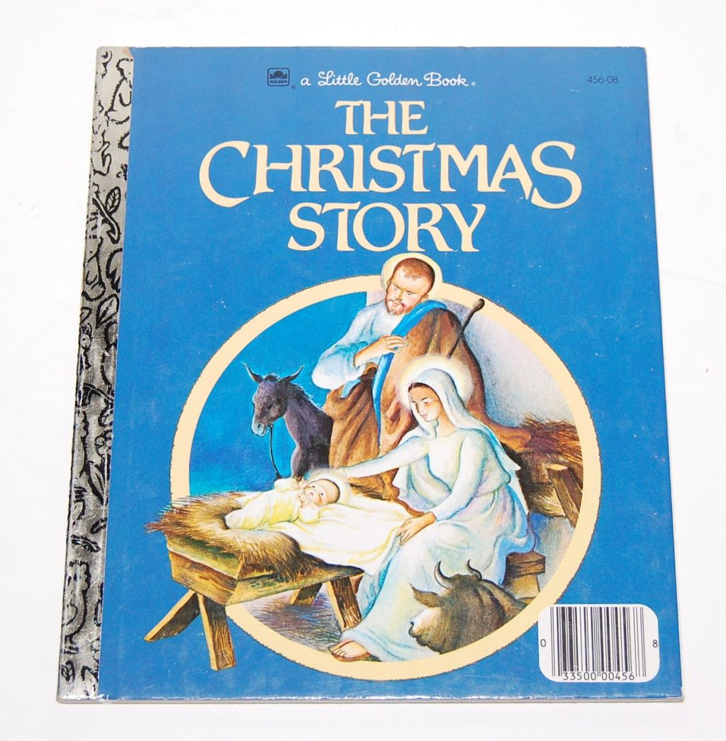 1980 The Christmas Story ~ A Little Golden Book