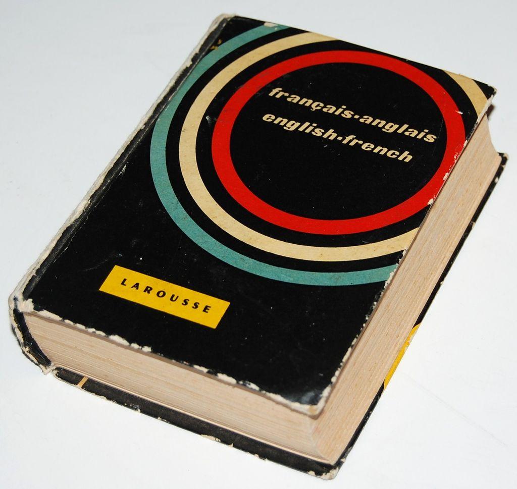 1928 LaRousse ~ Petite French/English Hardcover Dictionary
