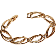 TRIFARI Polished Goldtone Oval Link Bracelet