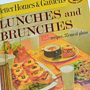 1963 Better Homes ~ Lunches & Brunches H/C Cookbook