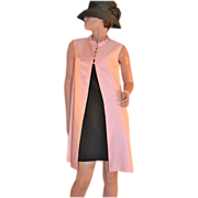 1950/60s Emma Domb ~ Candy Pink Dress Coat