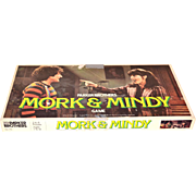 1979 Mork & Mindy Game of Splink Board Game