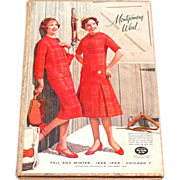 1958/59 Montgomery Ward ~ HARDCOVER Fall & Winter Catalog