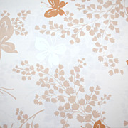 1960/70s Springmaid ~ Butterfly Double Flat Sheet