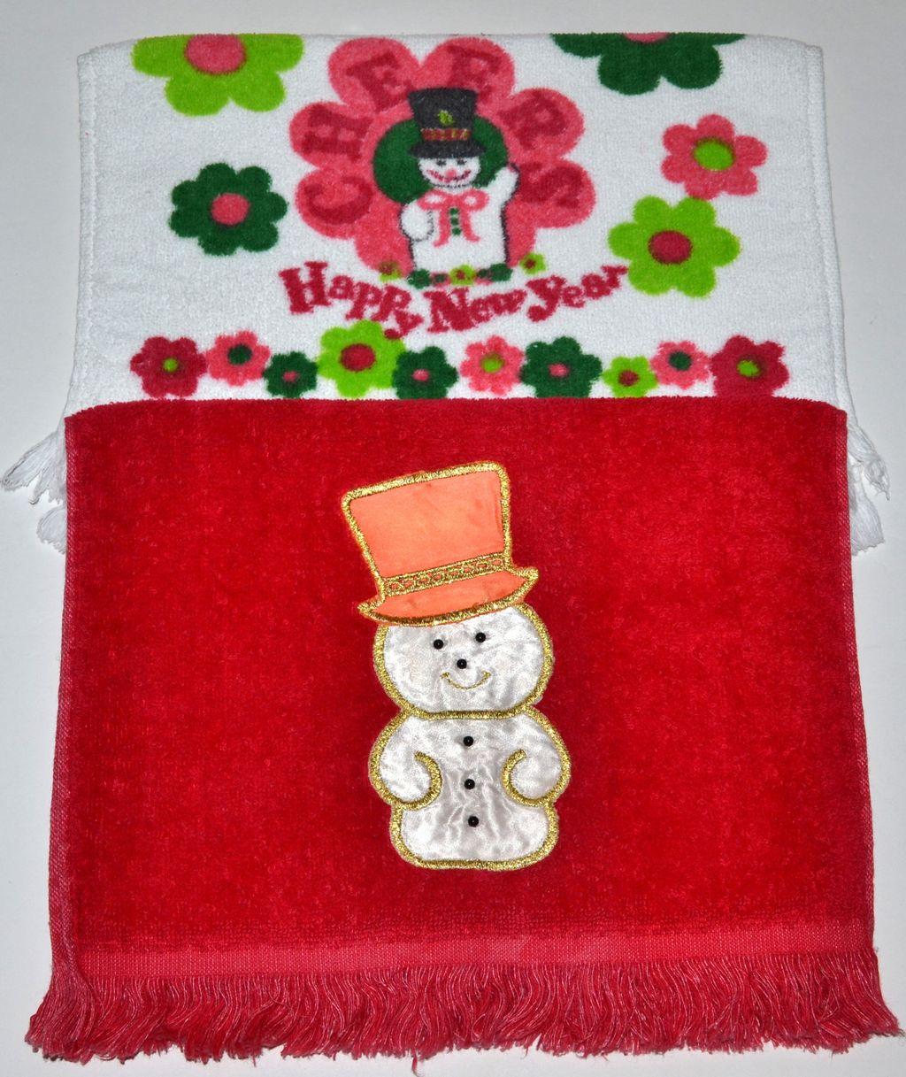 Who Sells Cannon Bath Towels: Set Of 2 Christmas Kitchen/Bath Fringe Towels : Kitsch