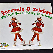 1960s Ferrante & Teicher ~ We Wish You A Merry Christmas LP Record