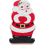 See's Candy Shops ~ Christmas Santa Die-Cut Chocolate Box