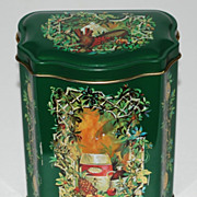 1981 Avon ~ Christmas Candy Tin ~ Made in England