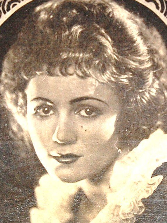 1920s Eduardo Pi Chocolates ~ Gladys Walton Advertising Trade Card