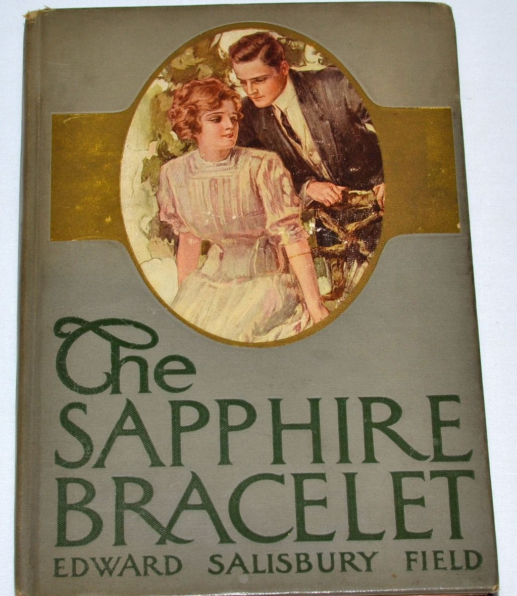 1910 The Sapphire Bracelet Hardcover Book