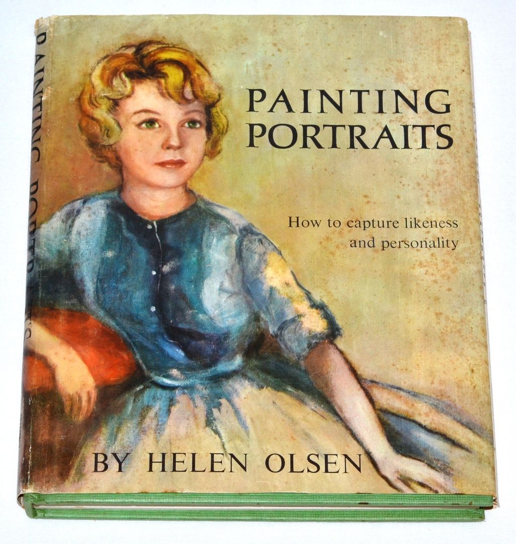 1963 Painting Portraits ~ Hardcover Book w/ DJ