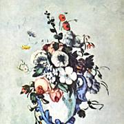 Cezanne ~ Vase of Flowers Still Life Reproduction Art Print
