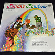 1960s Finian's Rainbow ~ Hit Songs LP Record