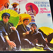 1966 Sergio Mendes & Brasil '66 ~ Look Around ~ LP Record
