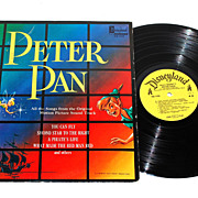 1963 Walt Disney ~ Peter Pan LP Record