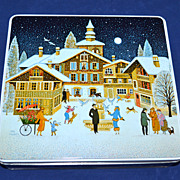 1986 F de Gail ~ Christmas Candy Tin