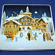 1986 F de Gail ~ Christmas Candy Tin