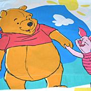 Disney ~ Winnie the Pooh Twin Flat Sheet