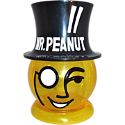 "Huge 13"" Mr. Peanut Advertising Peanut Container Store Display"