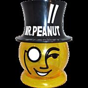 "Huge 13"" Mr. Peanut Advertising Peanut Container Store Display"