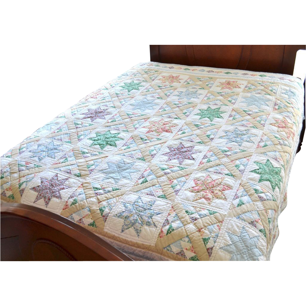 Hand Made Quilt For Queen Size Bed