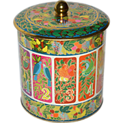Hallmark ~ 12 Days of Christmas Candy or Cookie Tin w/ Lid
