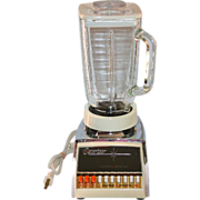 Osterizer Blender Chrome 10 Pulse Matic Cycle & Blend