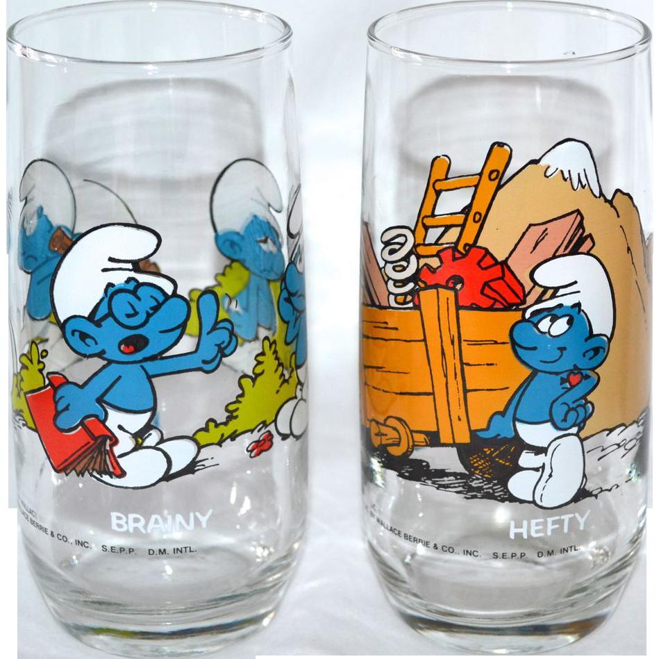 Brainy Smurf Glasses
