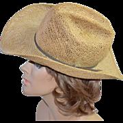 Bailey U-Rollit ~ Western Straw Cowboy Hat