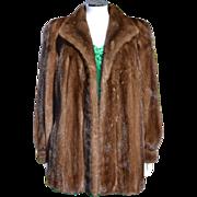 Christian Dior Bonwit Teller Mink Fur Coat