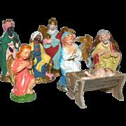 13-Pc Christmas Nativity Set